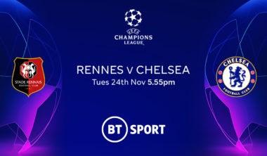 Rennes v Chelsea (Champions League)