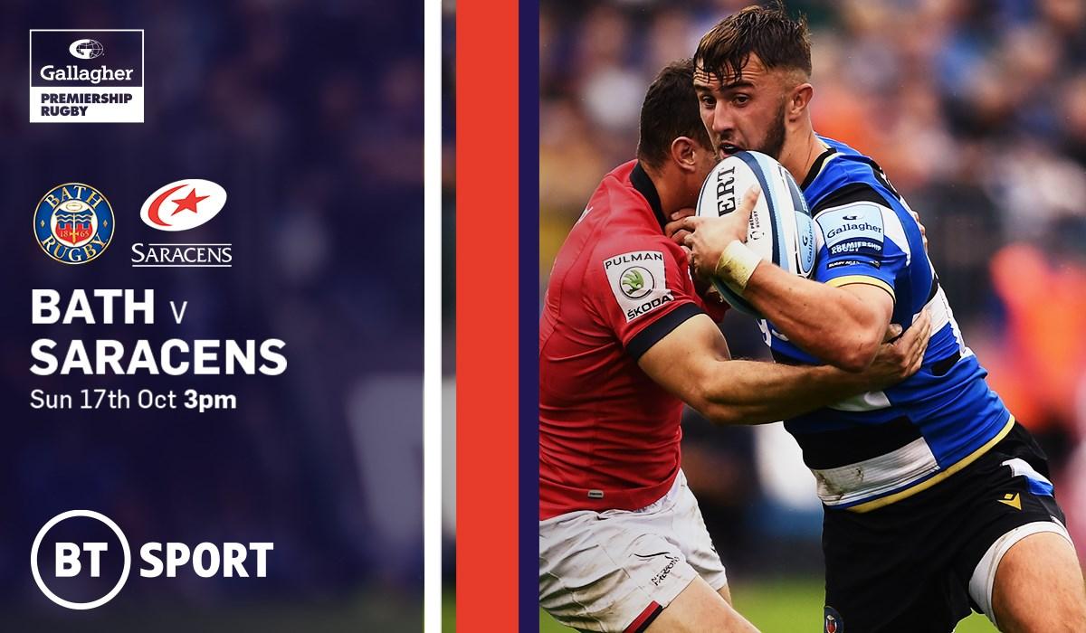 Bath Rugby v Saracens (Rugby Union - English Premiership)