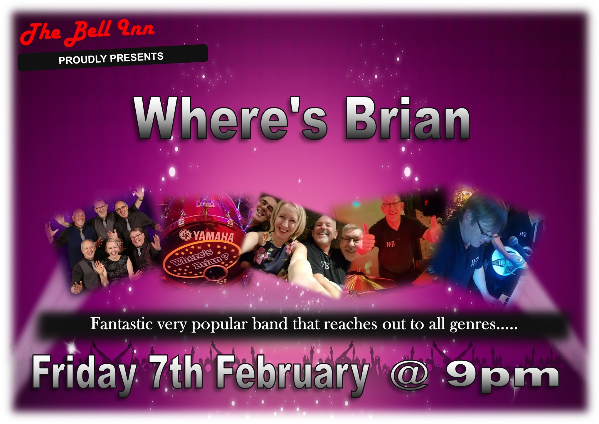 Live Music with Where's Brian