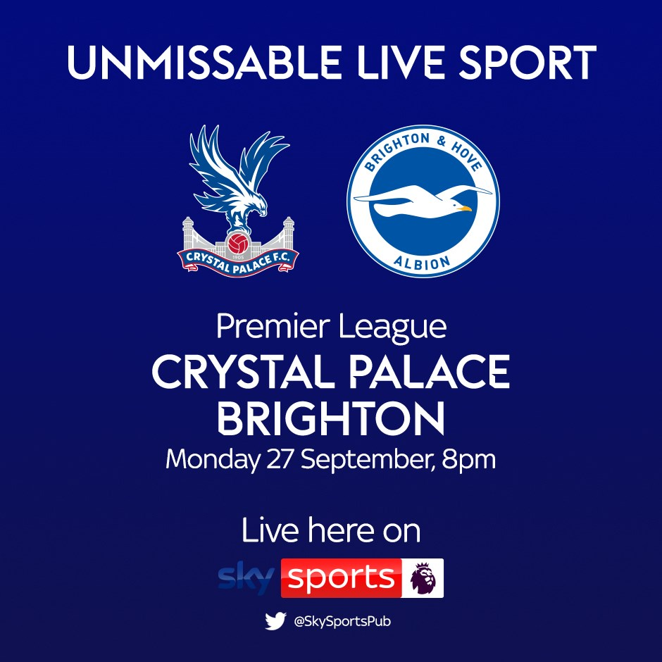 Crystal Palace v Brighton and Hove Albion (Premier League)