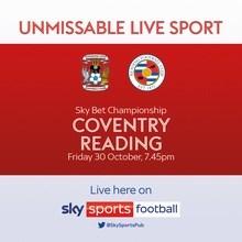 Coventry City v Reading (Football League)
