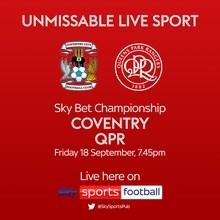 Coventry City v QPR (Football League)