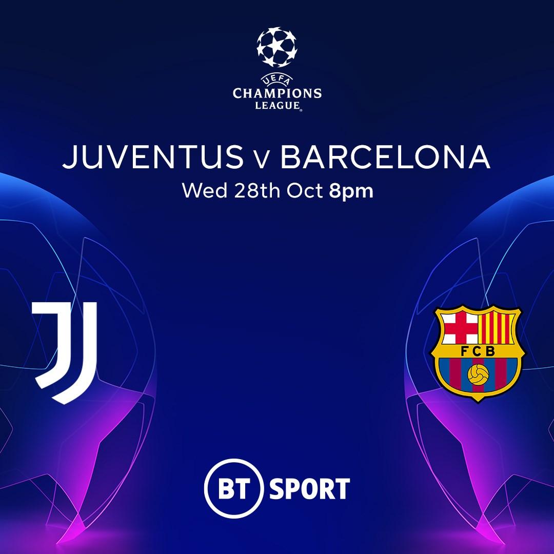Juventus v Barcelona (Champions League)