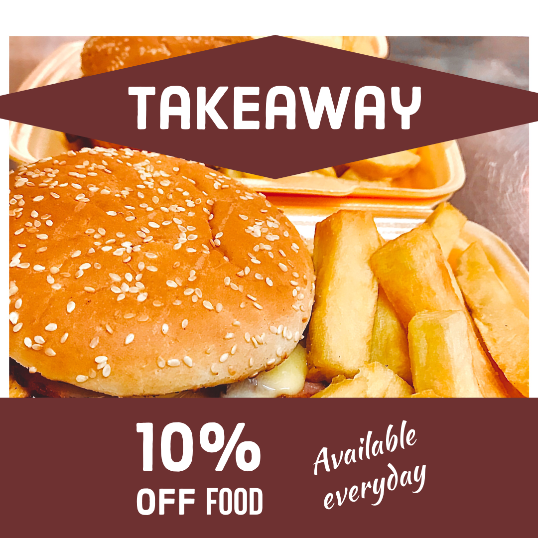 Takeaway Available