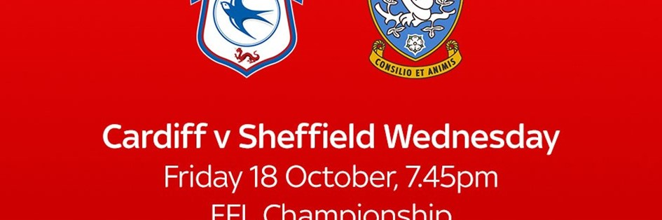 Cardiff City v Sheffield Wednesday (Football League)