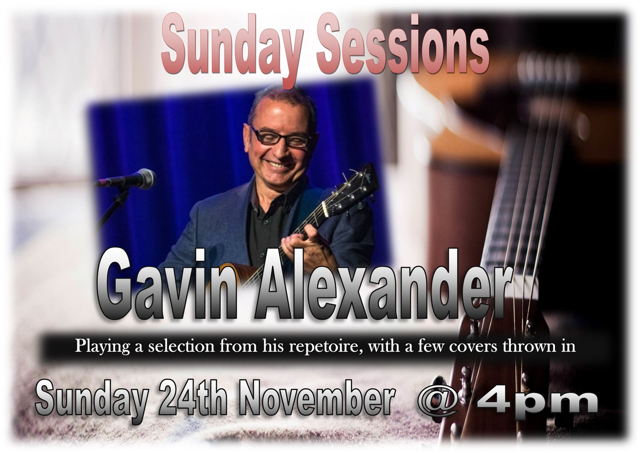 Sunday Sessions with Gavin Alexander