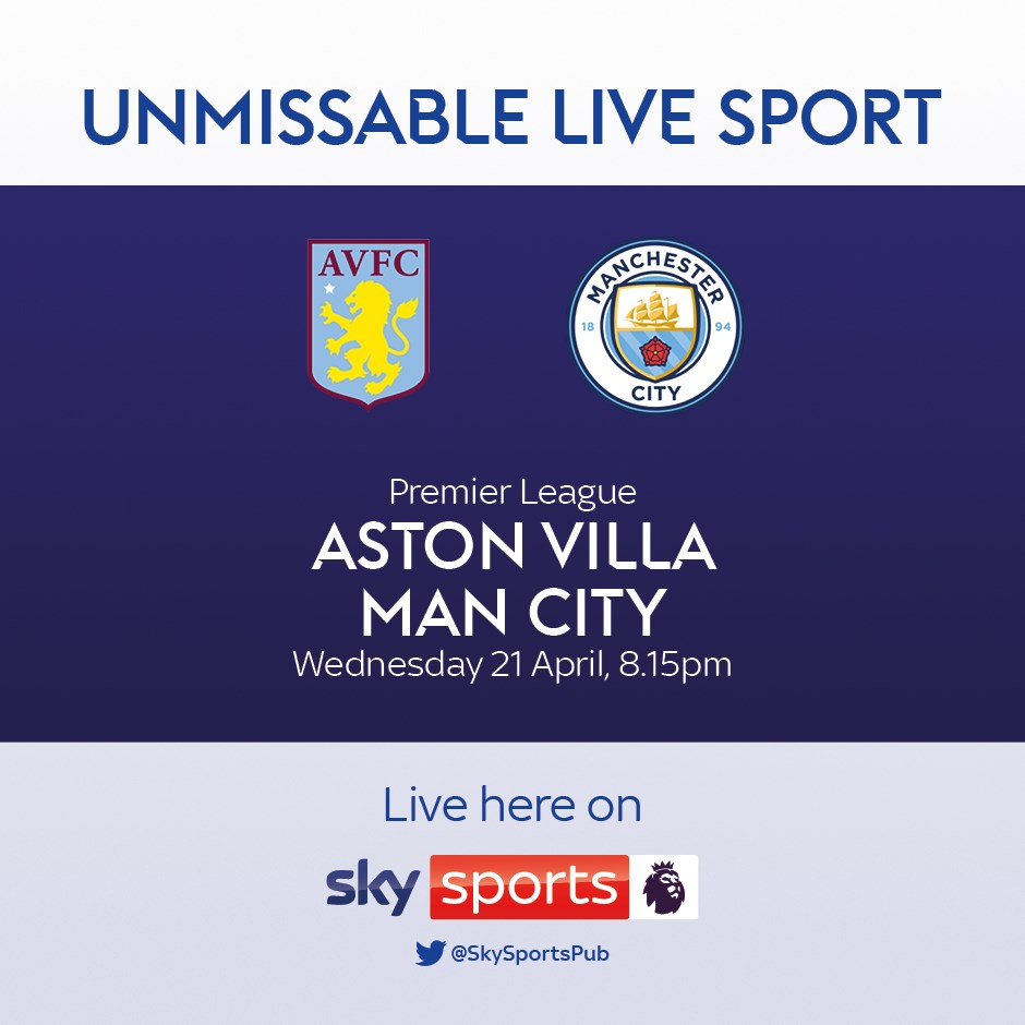 Aston Villa v Manchester City (Premier League)