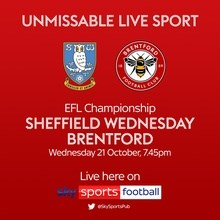 Sheffield Wednesday v Brentford (Football League)