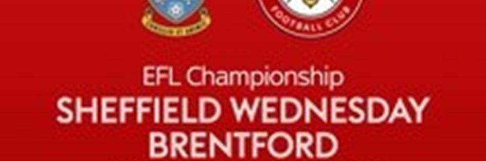 Sheffield Wednesday v Brentford (Football League)