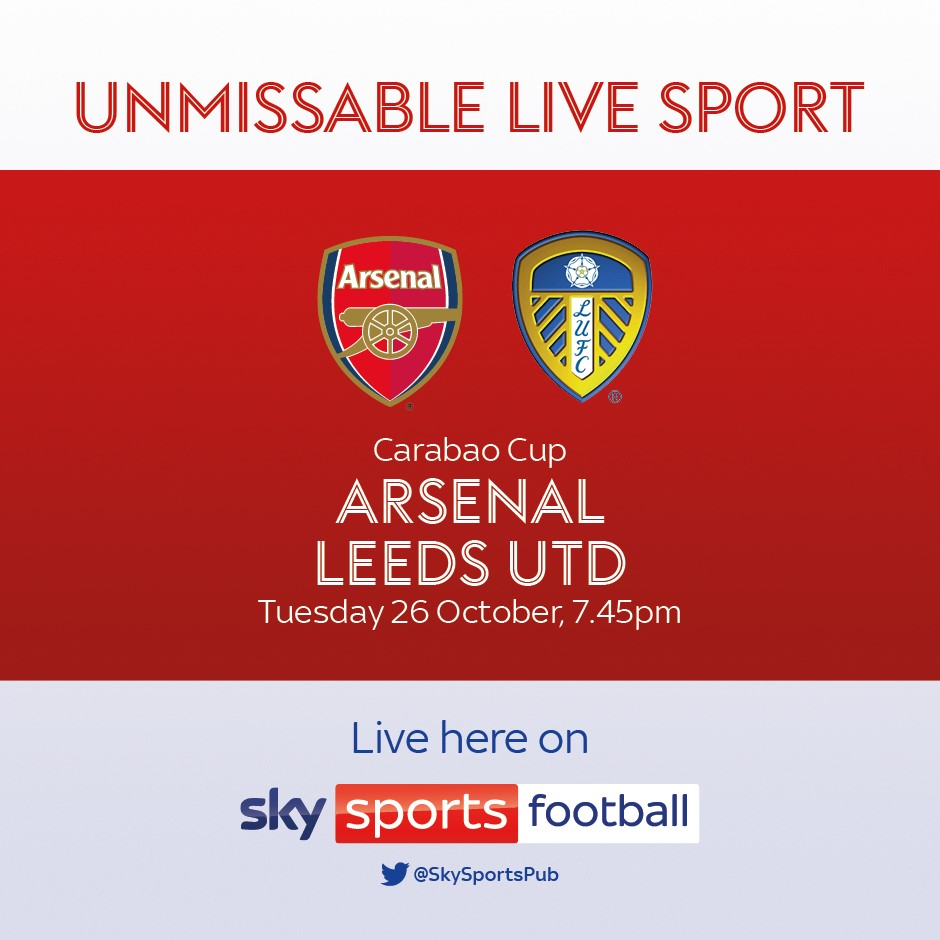 Arsenal v Leeds United (EFL Cup)