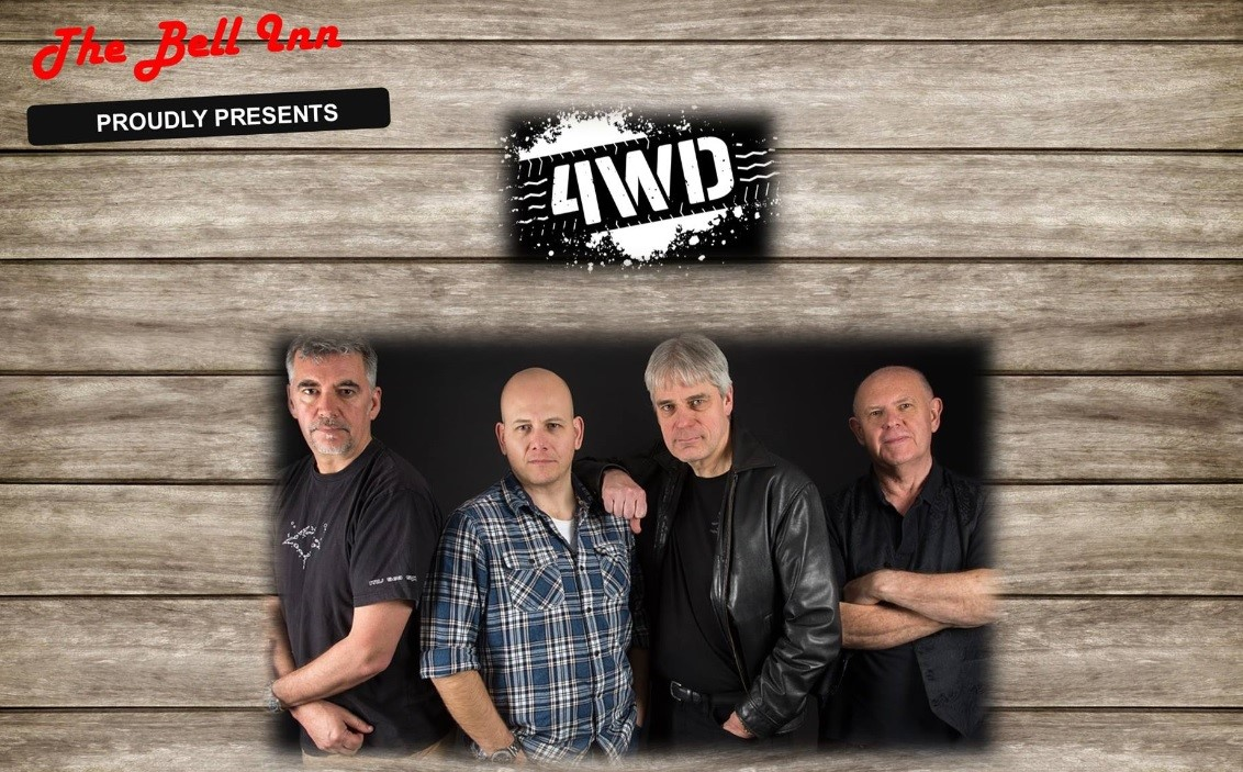 Live music with Local band 4WD