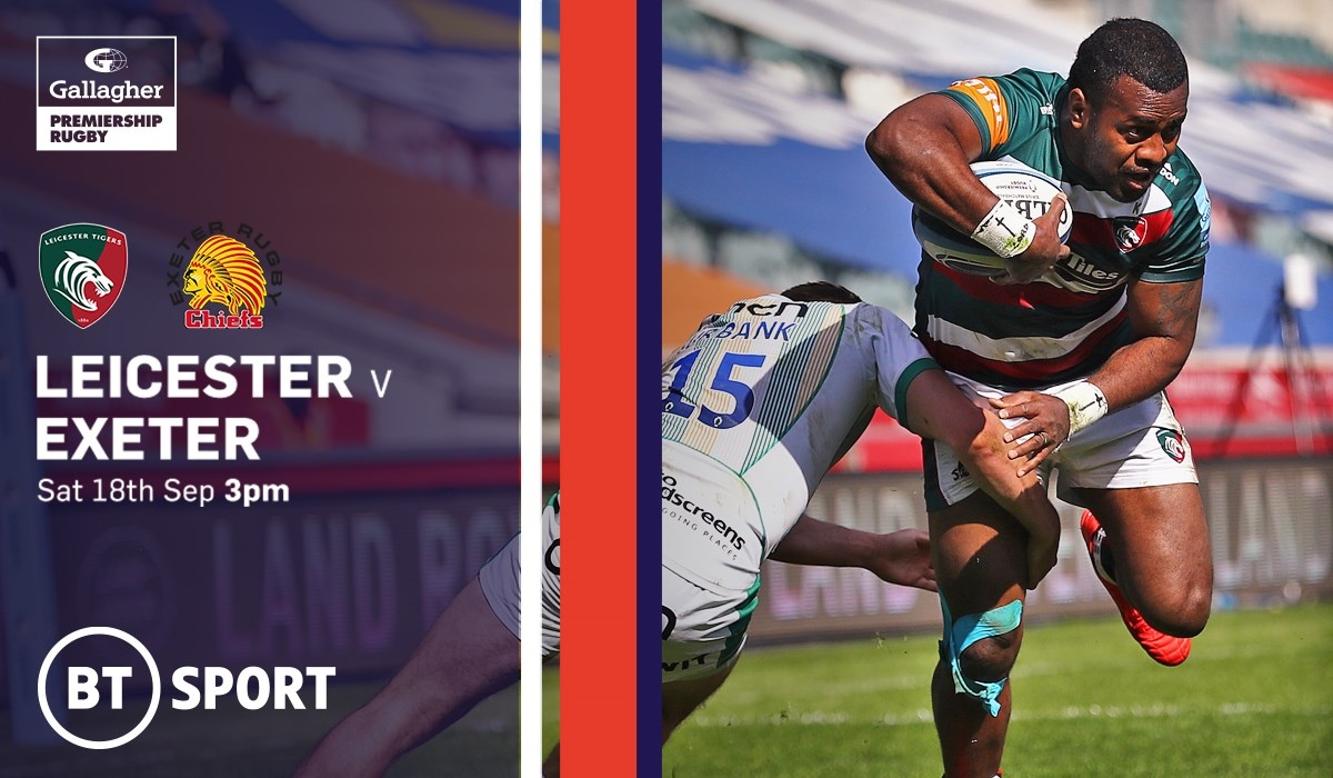 Leicester Tigers v Exeter Chiefs (Rugby Union - English Premiership)