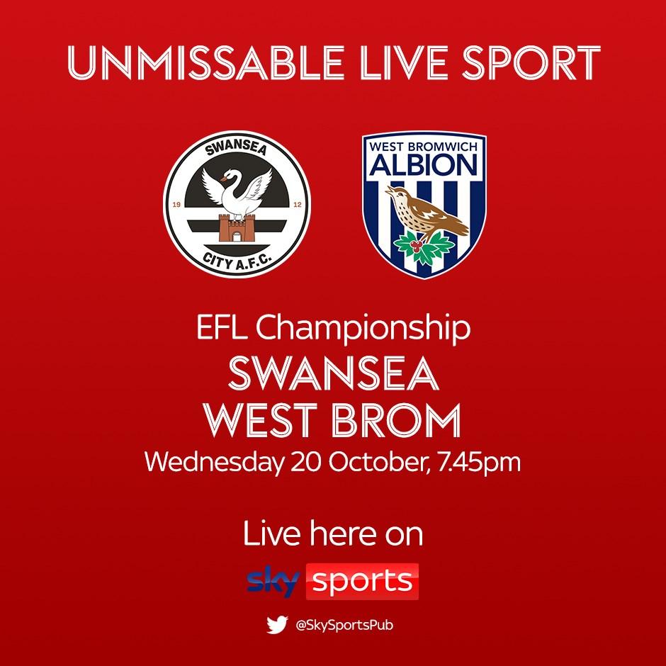 Swansea City v West Bromwich Albion (Football League)