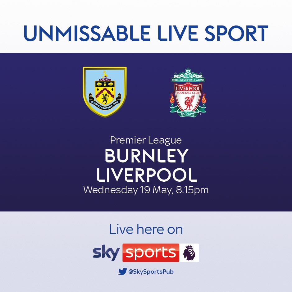 Burnley v Liverpool (Premier League)