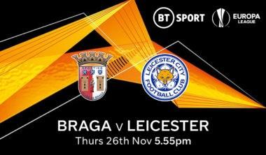 Braga v Leicester City (Europa League)