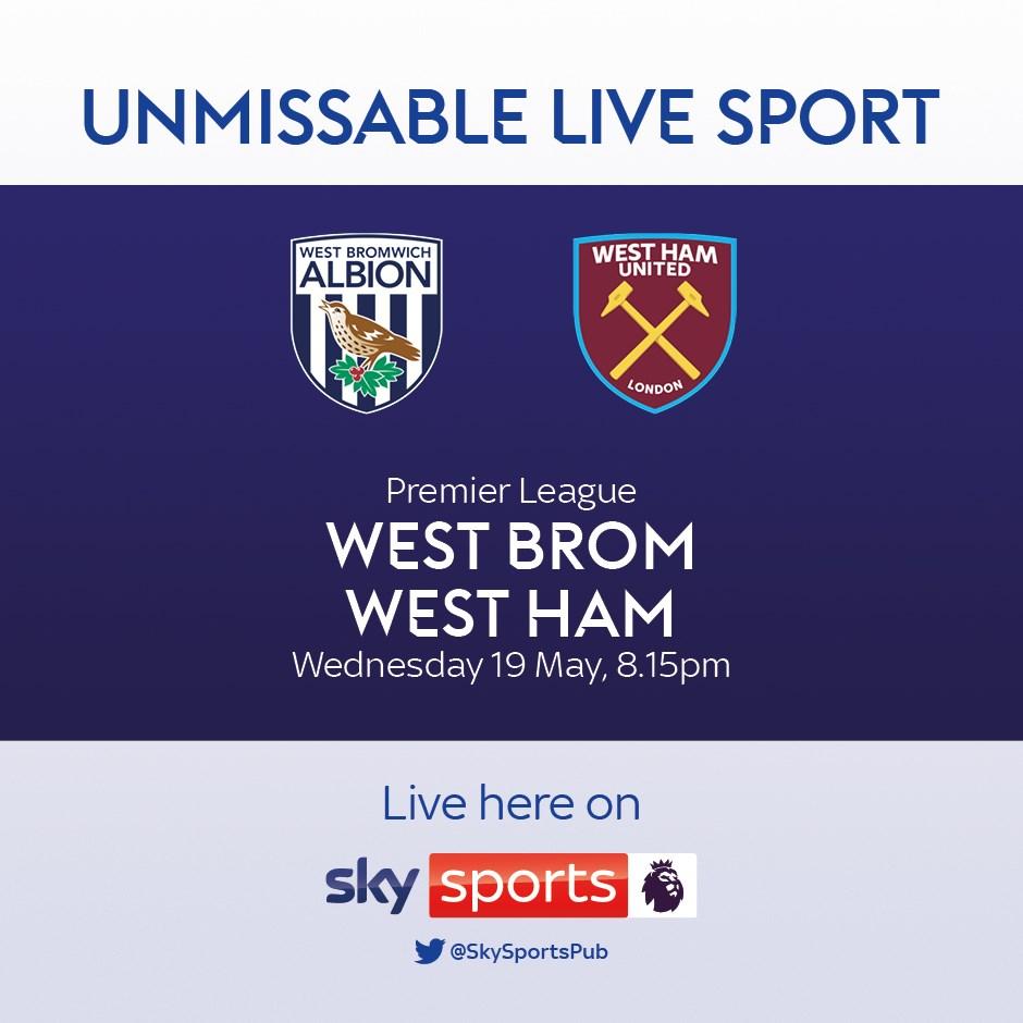 West Bromwich Albion v West Ham United (Premier League)