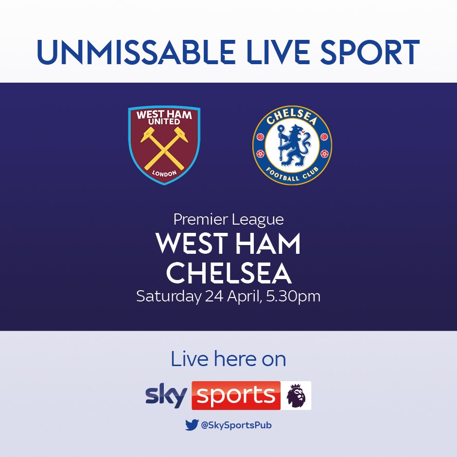 West Ham United v Chelsea (Premier League)