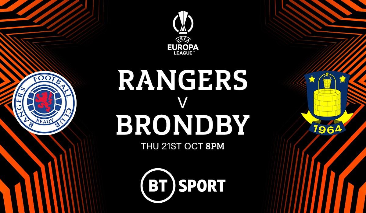 Rangers v Brondby (Europa League)