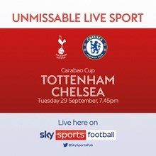 Tottenham Hotspur v Chelsea (EFL Cup)