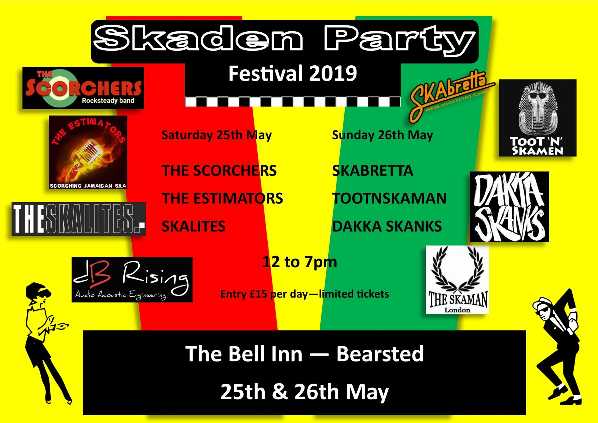 Bearsted's Skaden Party 2019