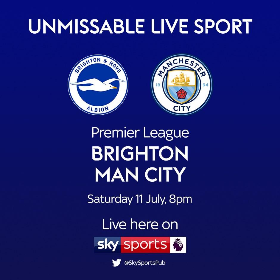 Brighton and Hove Albion v Manchester City (Premier League)