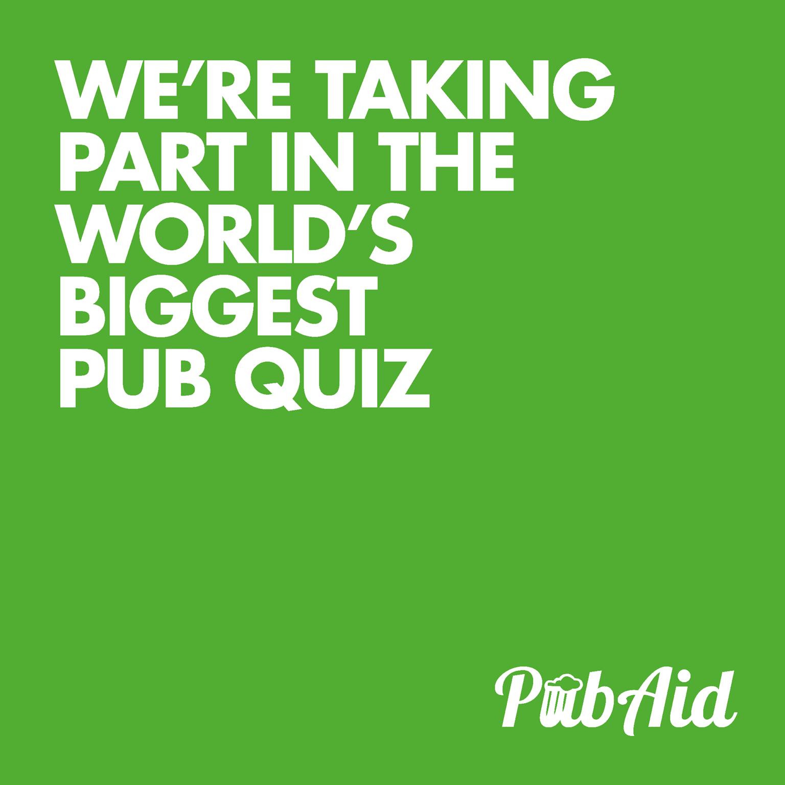 Worlds Biggest Pub Quiz