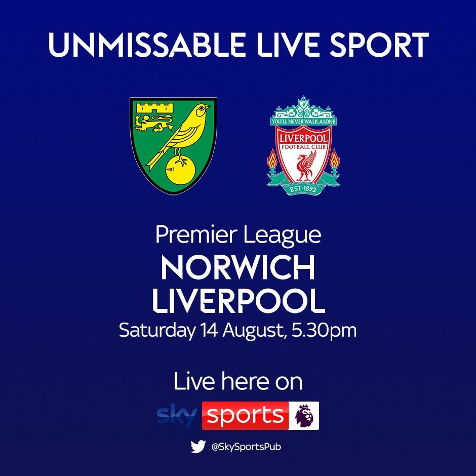 Norwich City v Liverpool (Premier League)