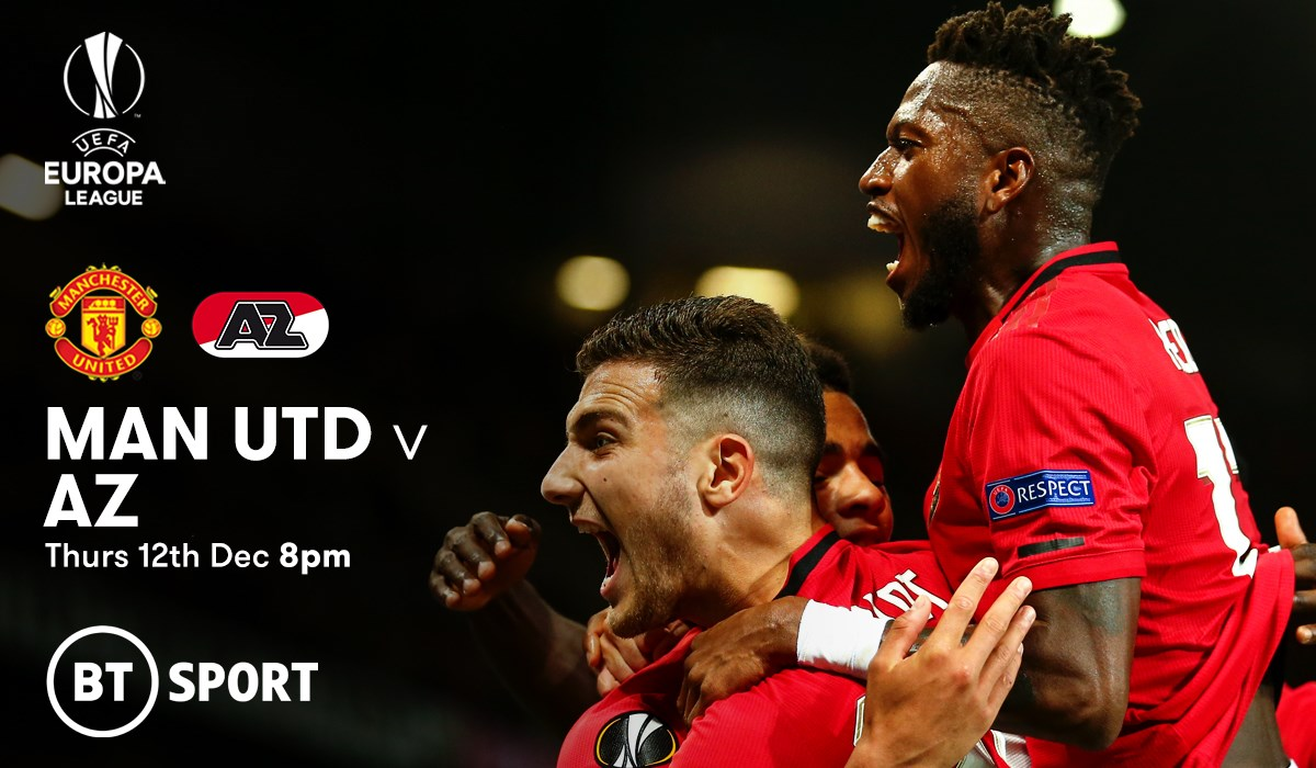 Manchester United v AZ Alkmaar (Europa League)