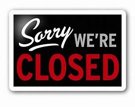 Pub Closed Monday 21st and Tuesday 22nd October