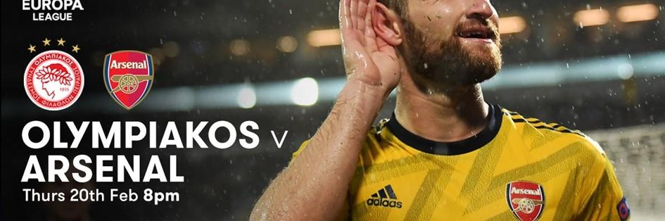 Olympiacos v Arsenal (Europa League)