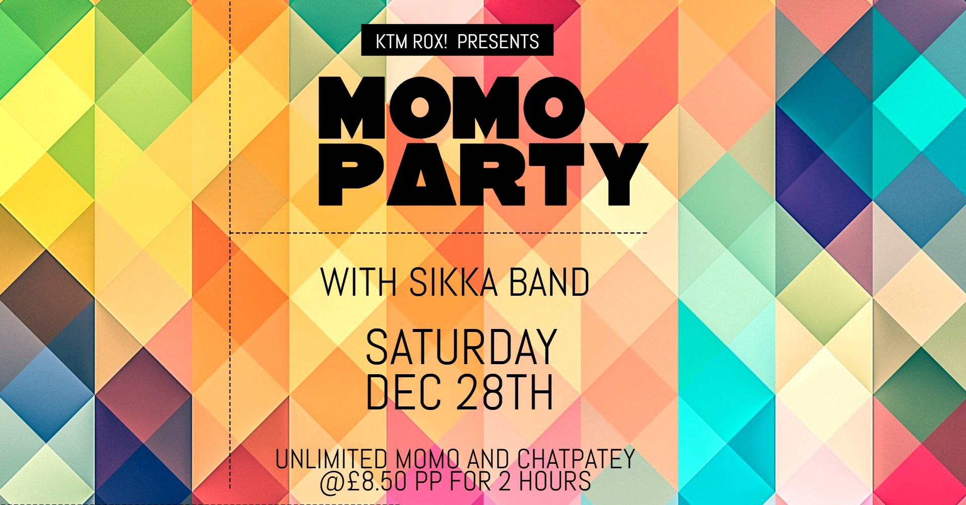 Momo Party with SIKKA Band
