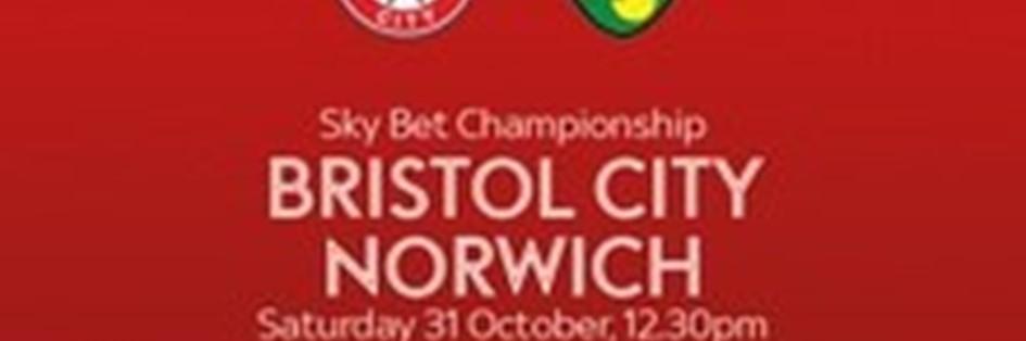Bristol City v Norwich City (Football League)