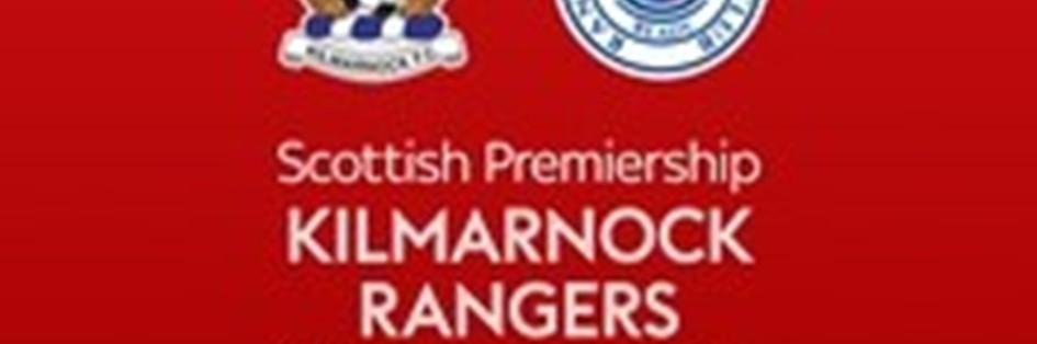 Kilmarnock v Rangers (Scottish Premier League)