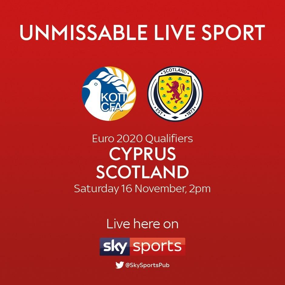 Cyprus v Scotland (Euro 2020)