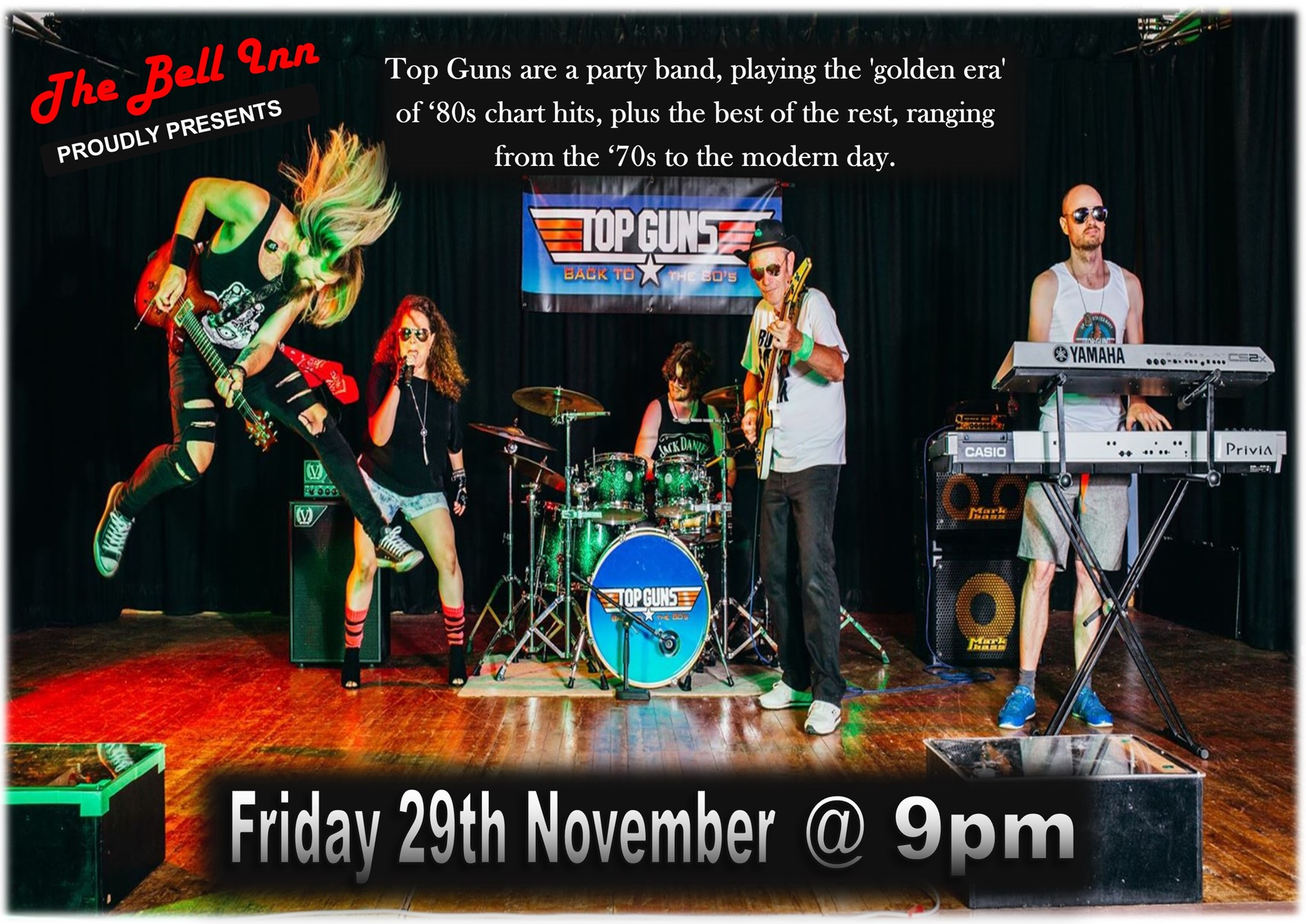 Live Music with Top Guns