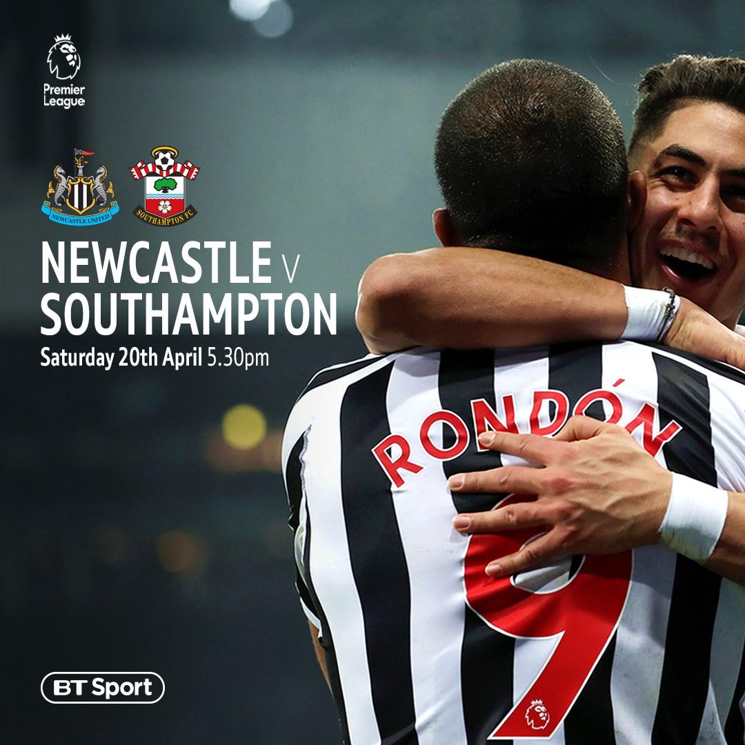 Newcastle United v Southampton (Premier League)