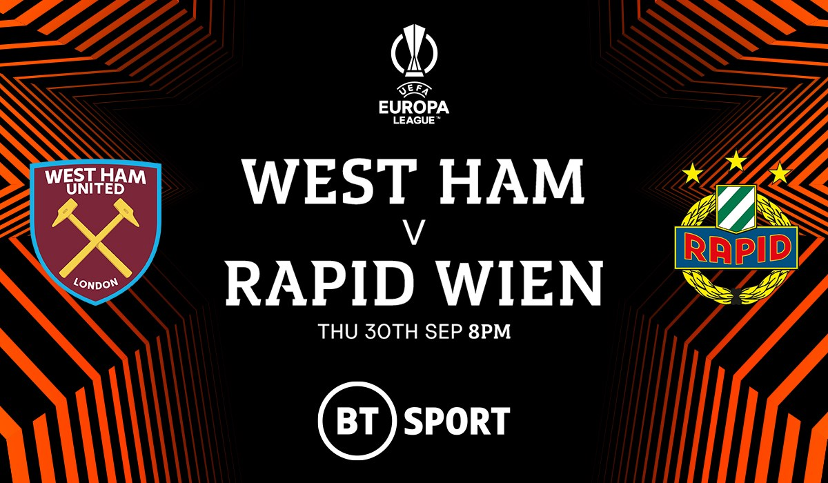 West Ham v Rapid Vienna (Europa League)