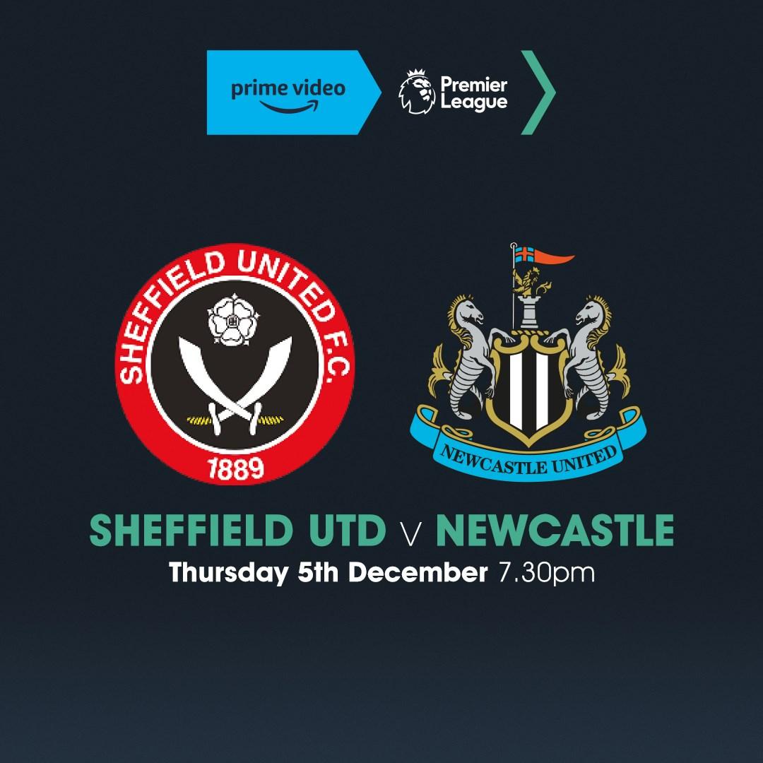 Sheffield United V Newcastle United (Premier League)