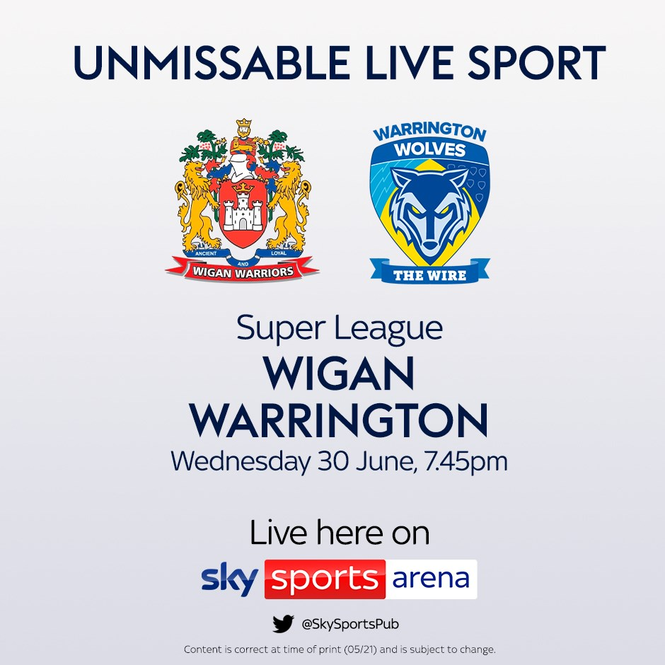 Wigan v Warrington (Rugby League - Super League)