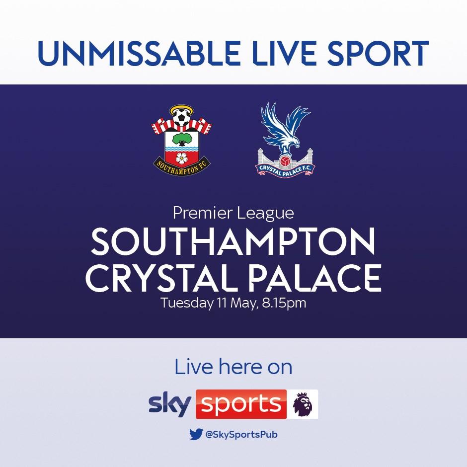 Southampton v Crystal Palace (Premier League)