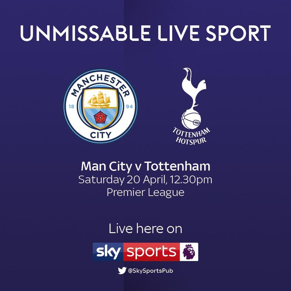 Manchester City v Tottenham Hotspur (Premier League)