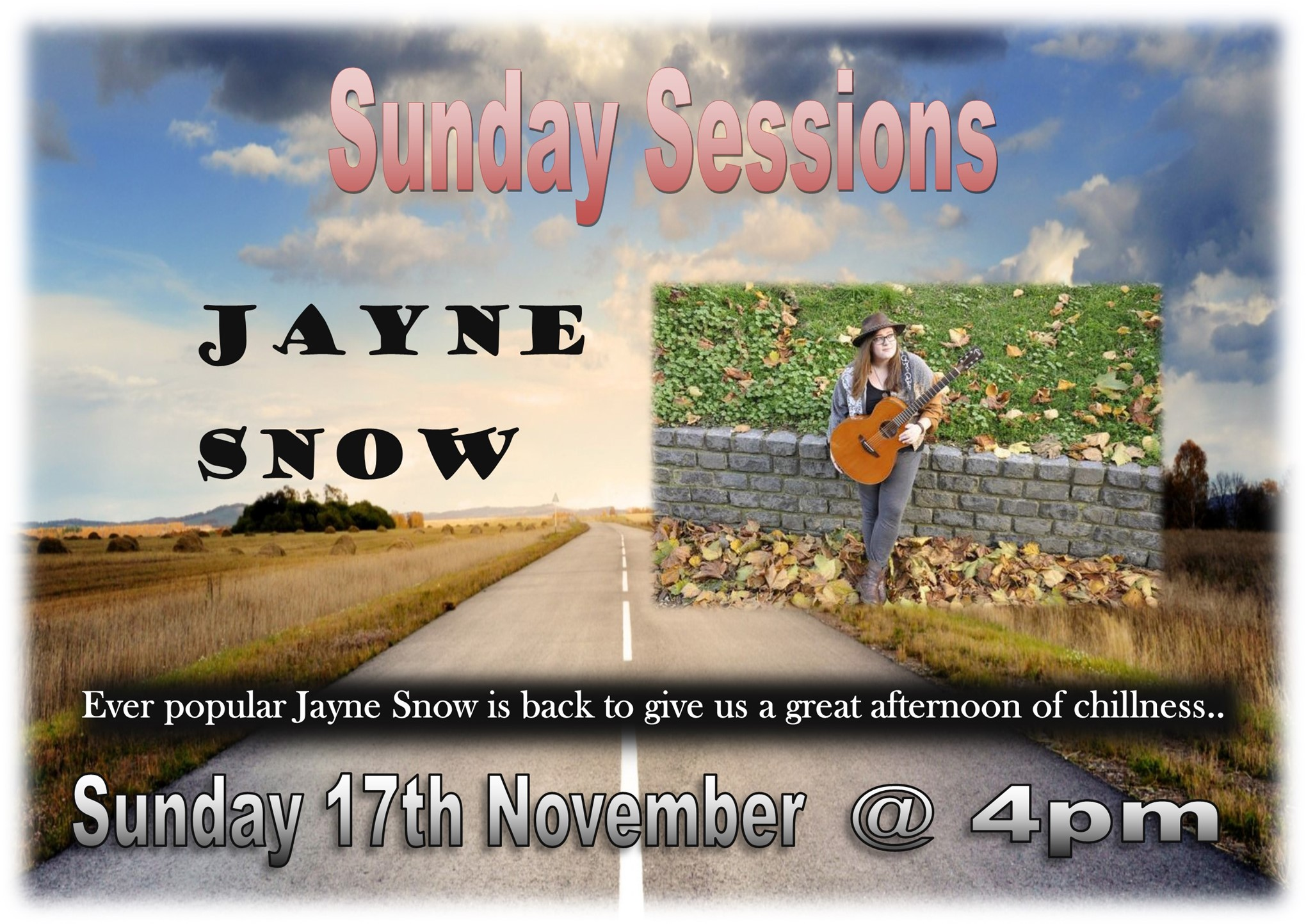 Sunday Sessions with Jayne Snow
