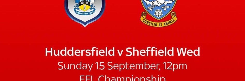 Huddersfield Town v Sheffield Wednesday (Football League)