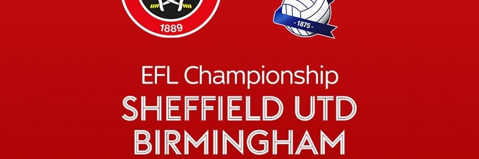 Sheffield United v Birmingham City (Football League)