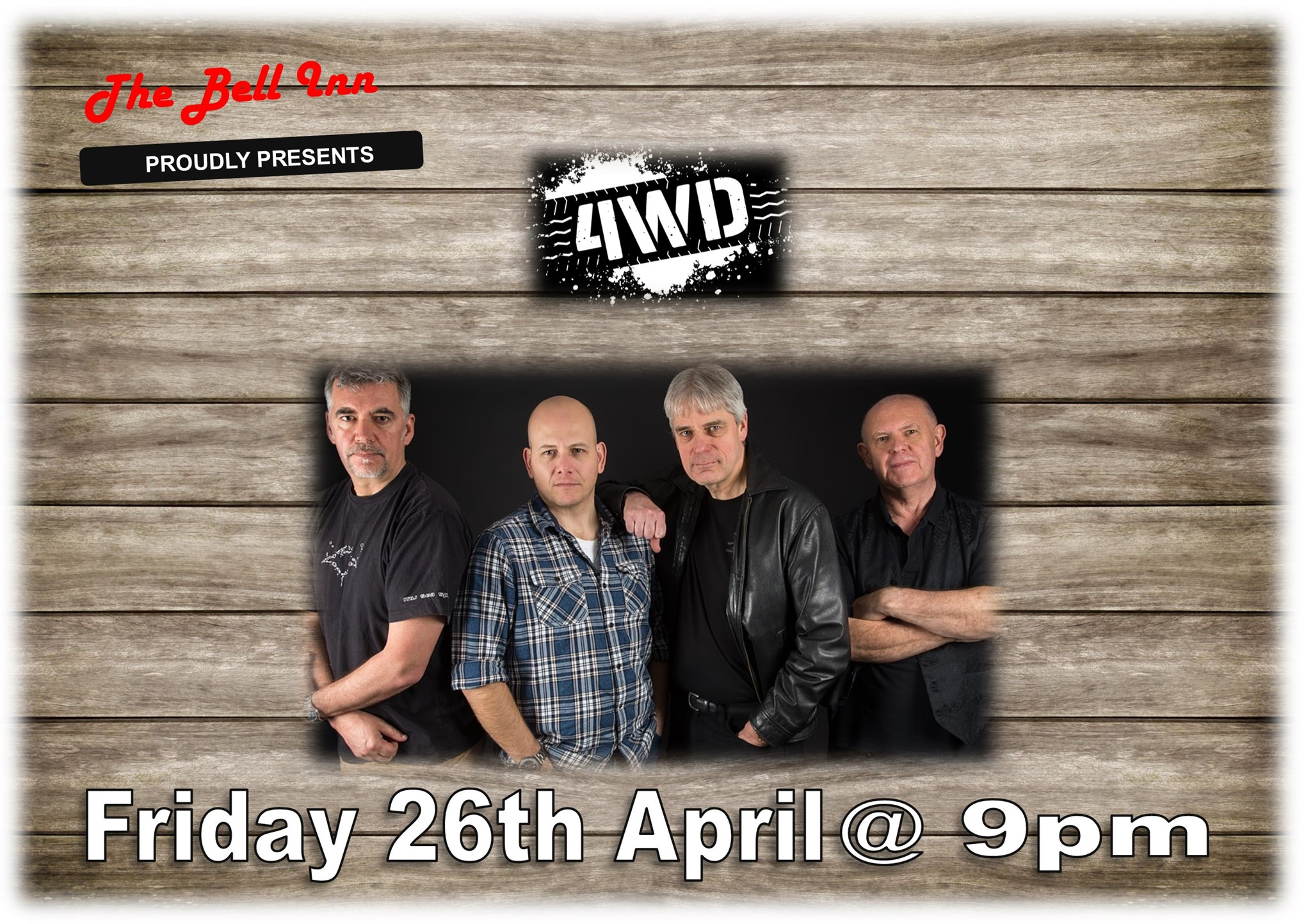 Live Music with 4WD