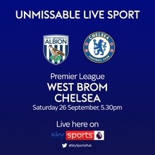 West Brom v Chelsea (Premier League)