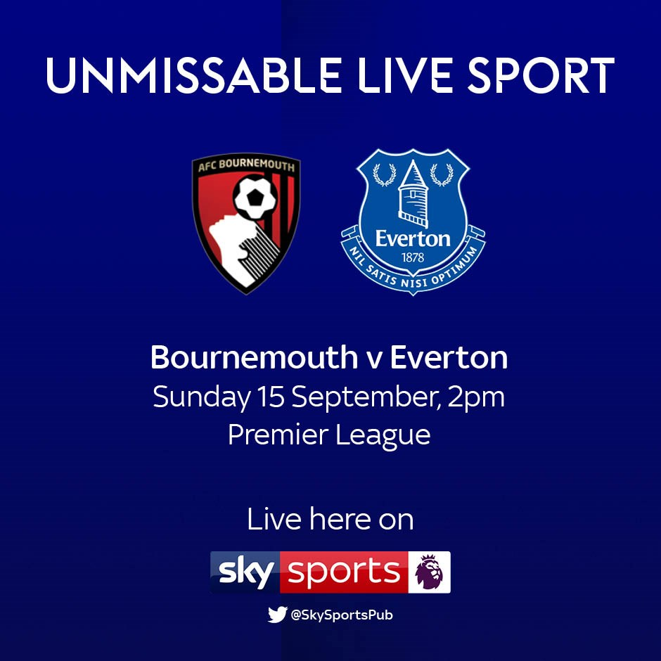 Bournemouth v Everton (Premier League)