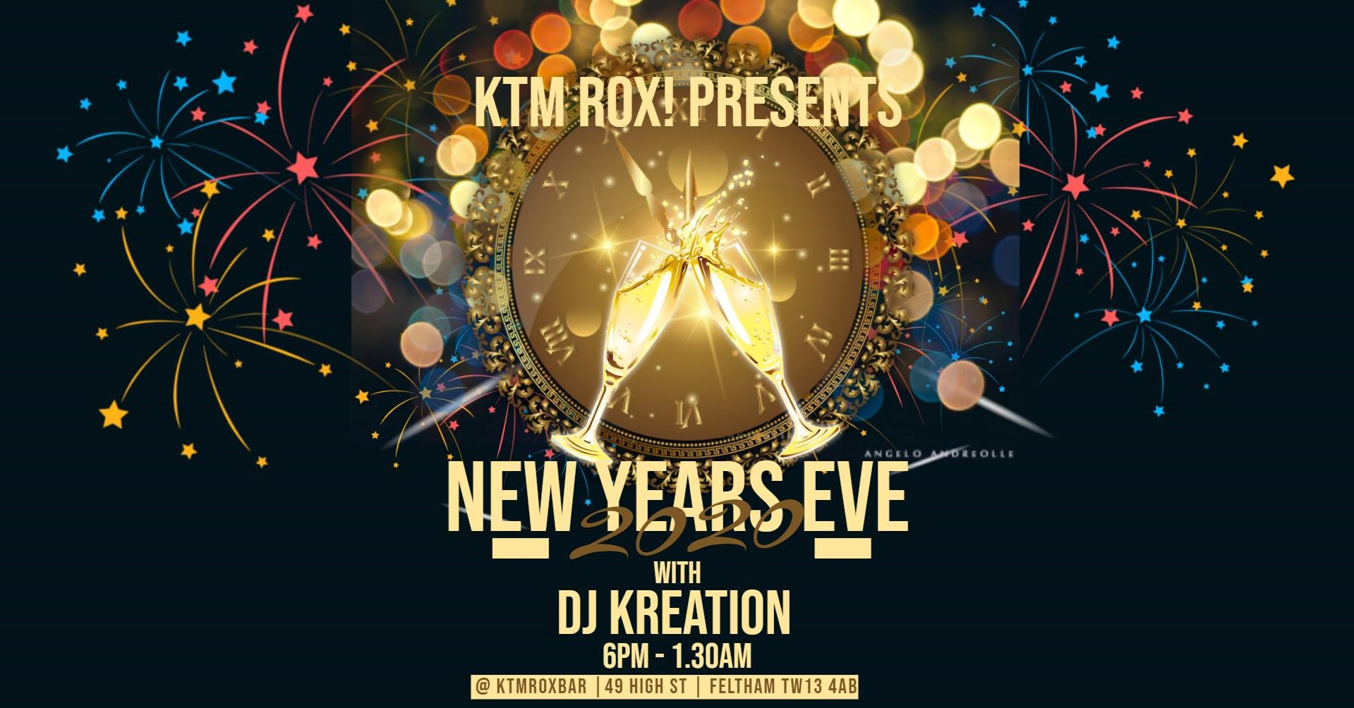 New Year Eve 2019 feat. DJ Kreation