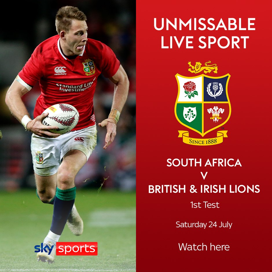 South Africa v British and Irish Lions (Rugby Union - Other International)
