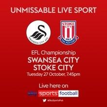 Swansea City v Stoke City (Football League)
